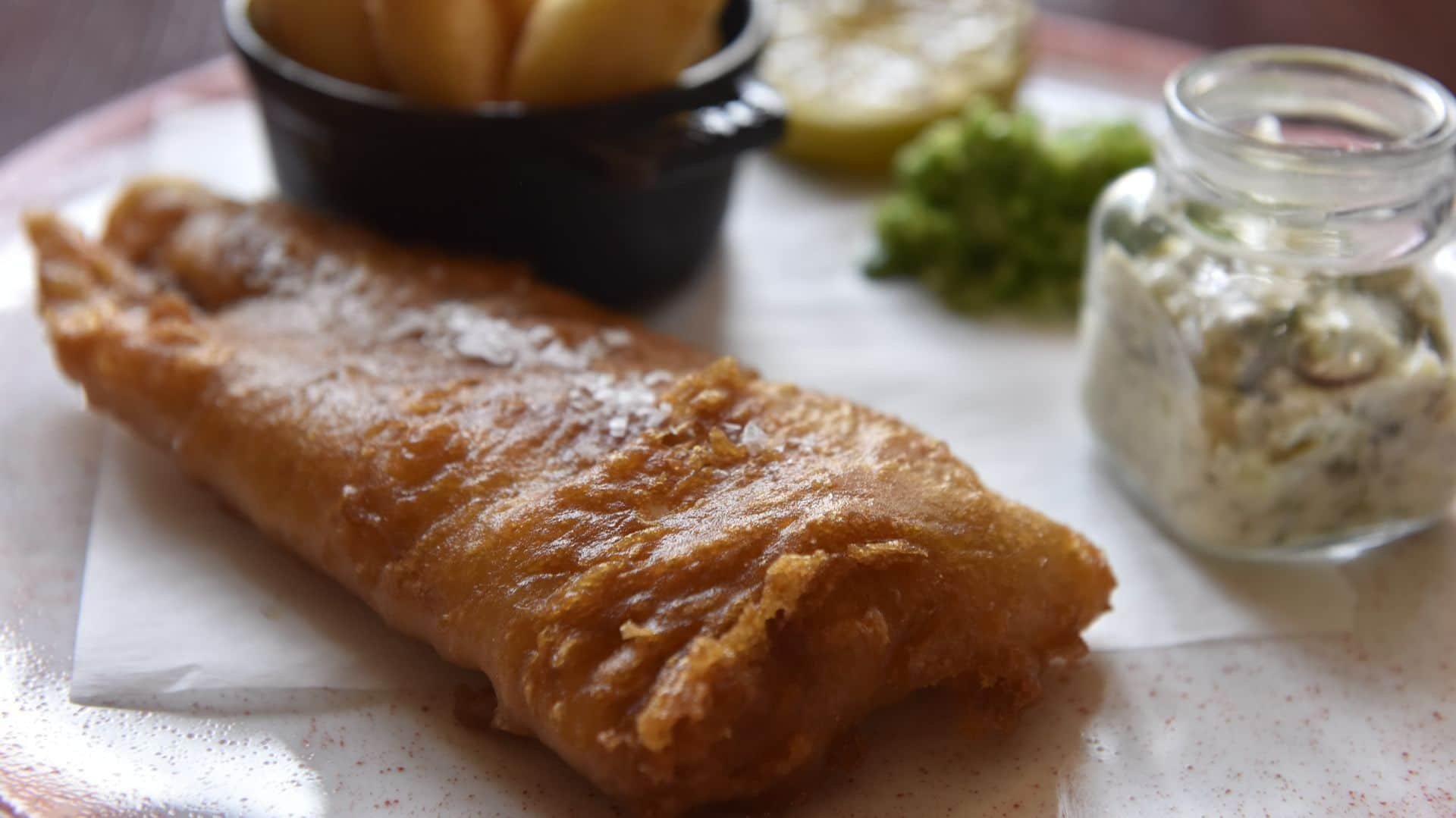 Every Thursday: £7.50 Fish & Chips